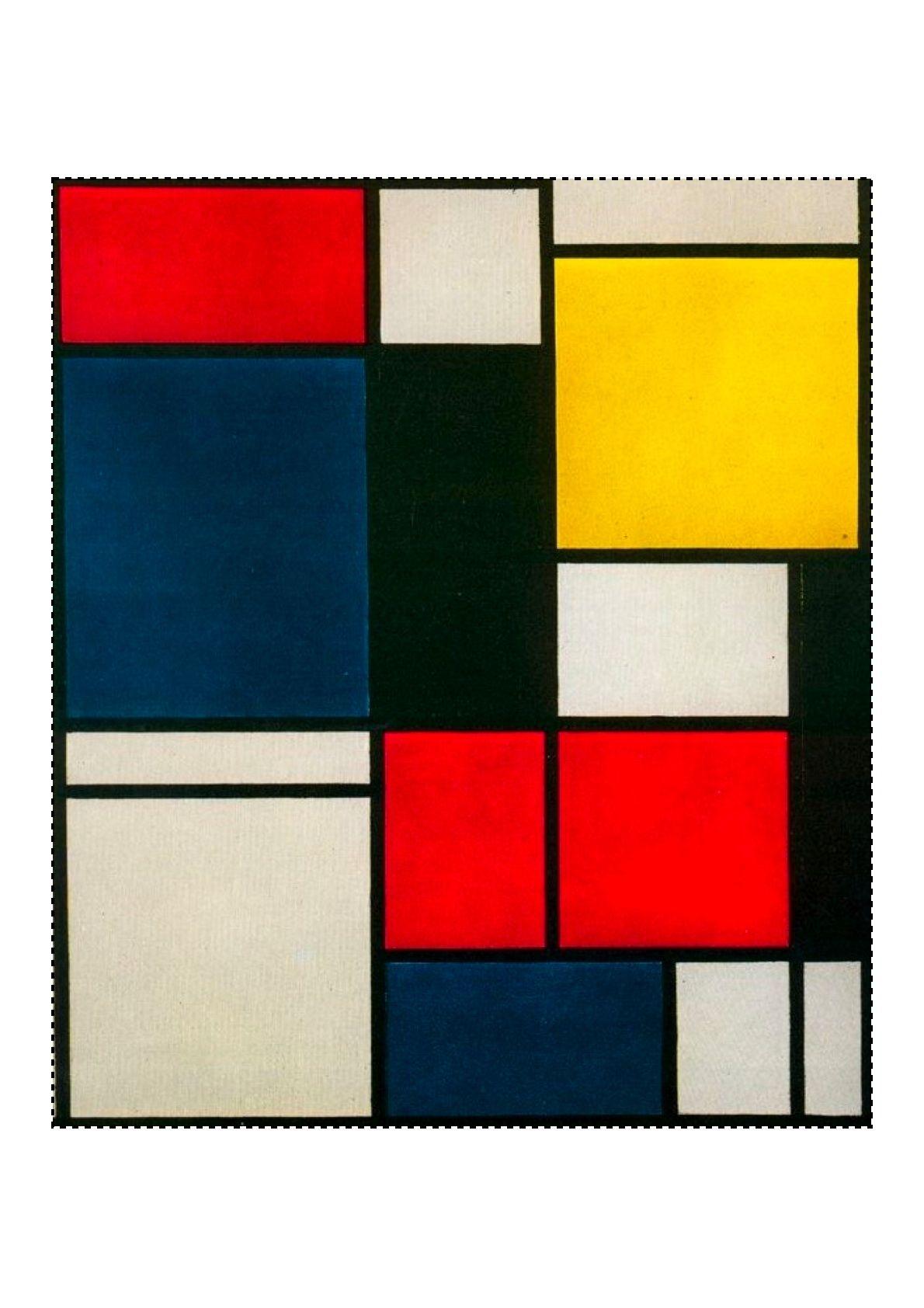 Dibujos de cuadros famosos para colorear la casa holidays oo for Cuadros con formas geometricas
