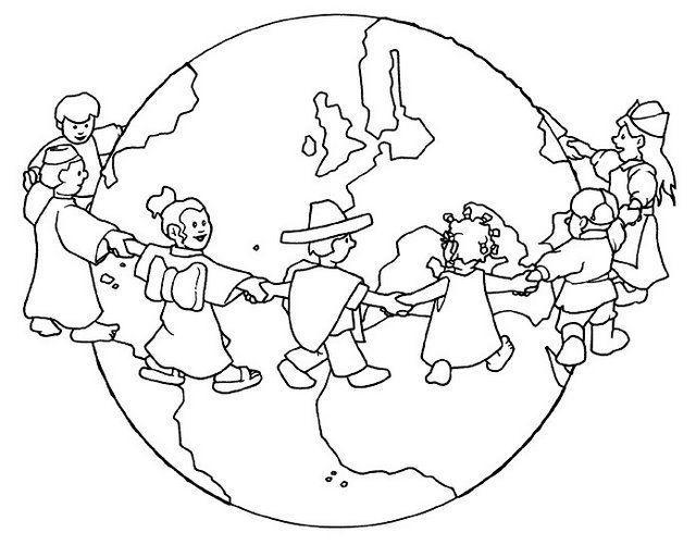 Imágenes Para Colorear Dibujos Del Día De La Paz: DIBUJOS DIA DE LA PAZ PARA COLOREAR