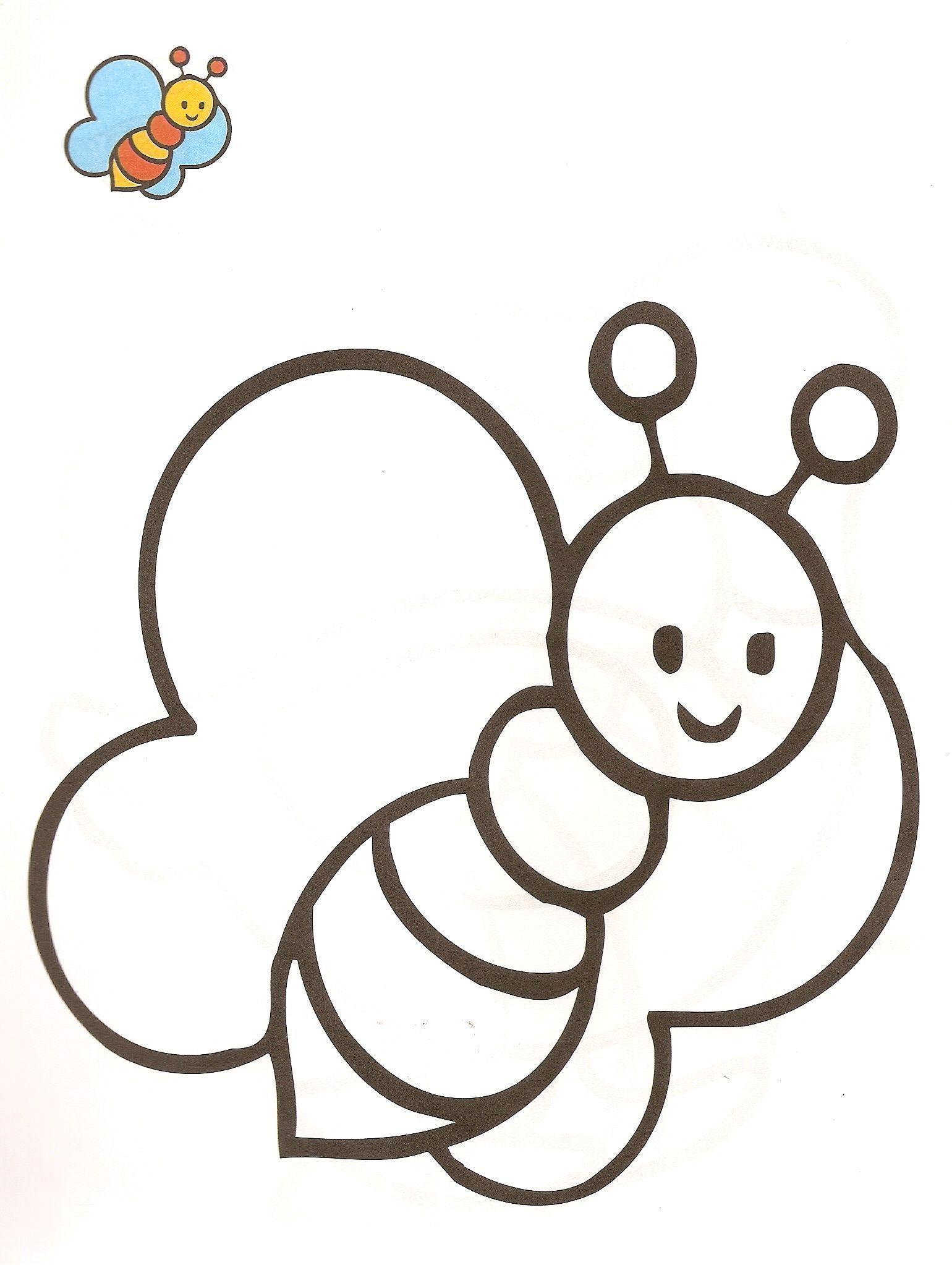 Dibujos de la Abeja maya para colorear y pintarKit De Imagenes ...