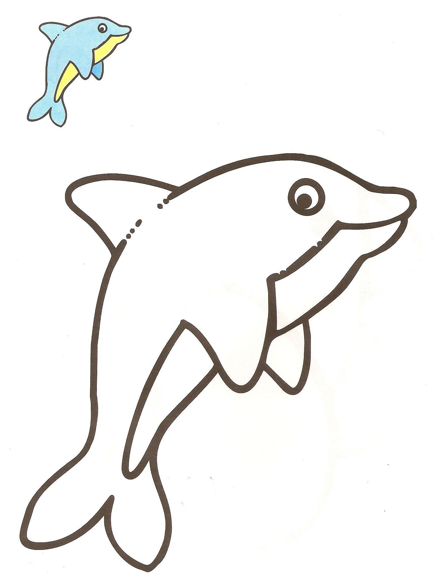Delfin dibujo - Imagui