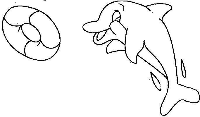 Dibujo Delfin Infantil Para Colorear Dibujos Delfines ...