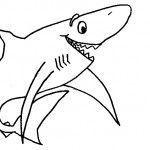 tiburoncoloriage