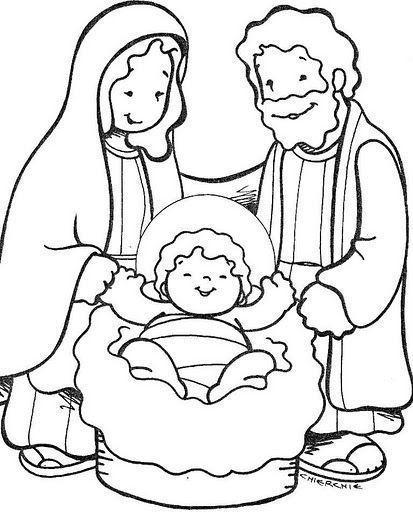 Dibujos para colorear del nacimiento de un bebé - Imagui