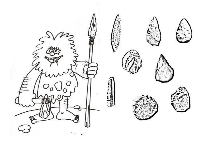 dibujosdearmasdelaprehistoria