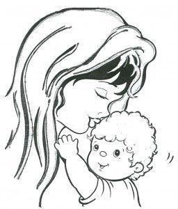 dibujos dia de la madre para colorear