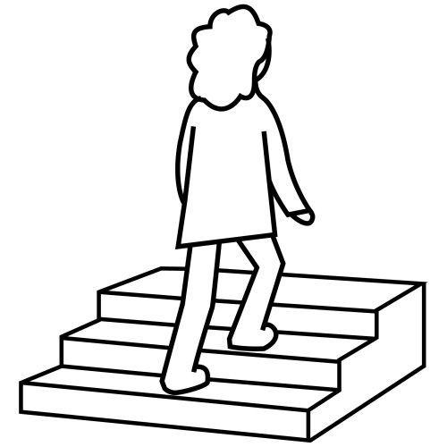 Subir Escalera Imagen