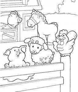 DIBUJO INFANTIL DE ANIMALES