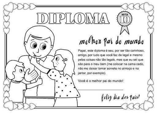 diploma dia del padre