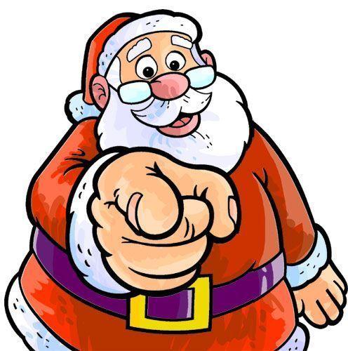 Dibujo de Santa